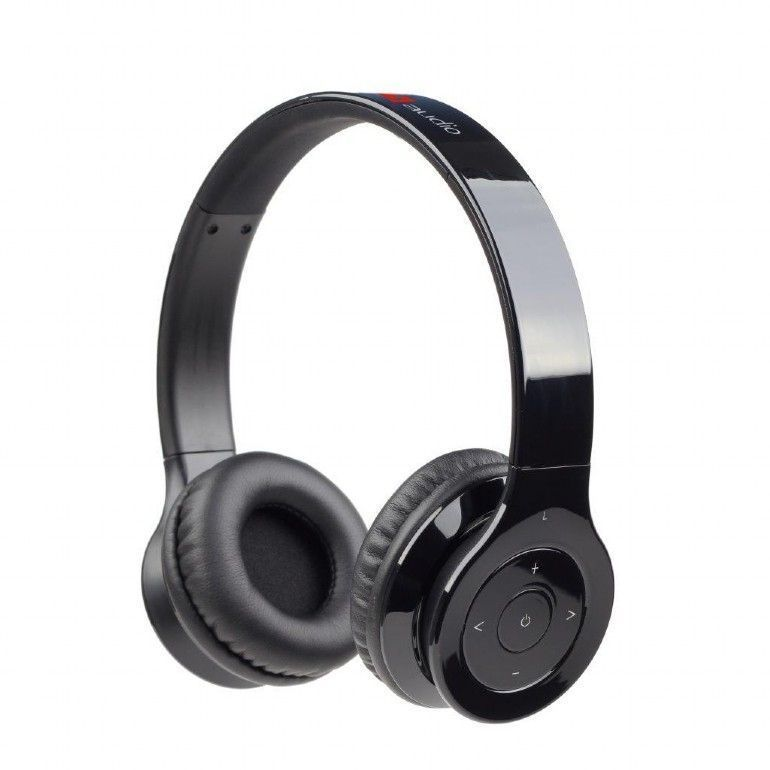 Gembird Berlin Headset Hoofdband Bluetooth Zwart
