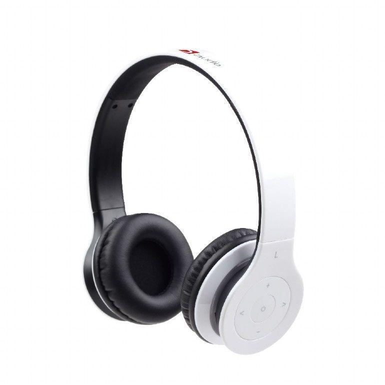 Gembird BHP-BER-W hoofdtelefoon/headset Hoofdband Bluetooth Wit
