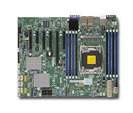 Supermicro X10SRH-CLN4F server-/werkstationmoederbord Intel® C612 LGA 2011 (Socket R) ATX