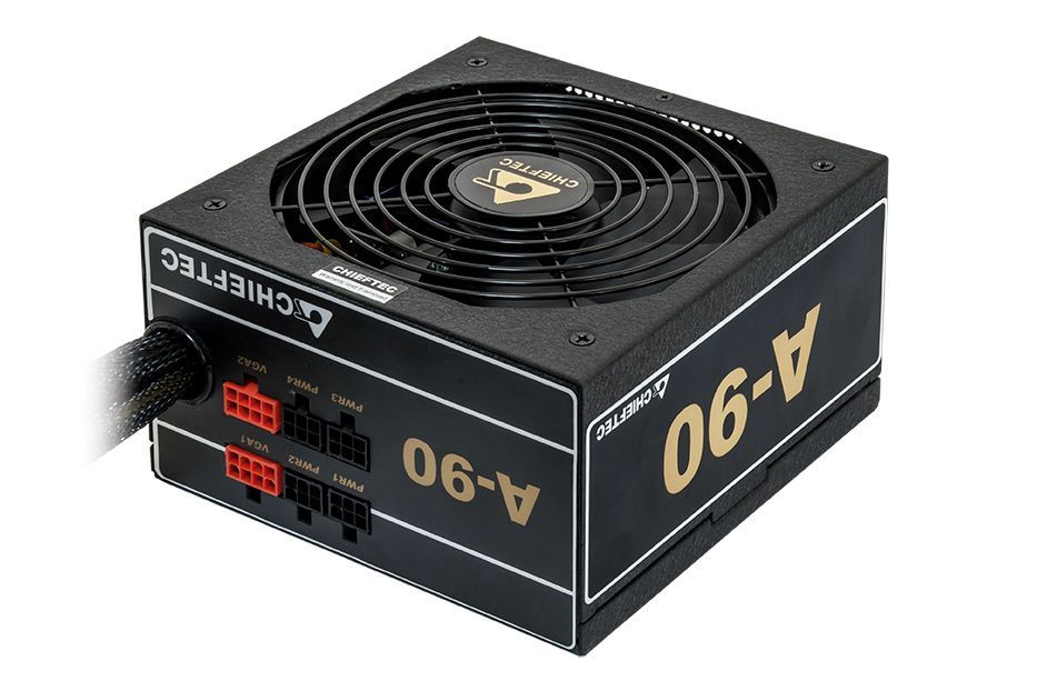 Chieftec GDP-750C power supply unit 750 W 20+4 pin ATX PS/2 Zwart