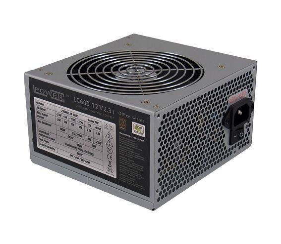 LC-Power LC600-12 V2.31 power supply unit 400 W 20+4 pin ATX ATX Grijs
