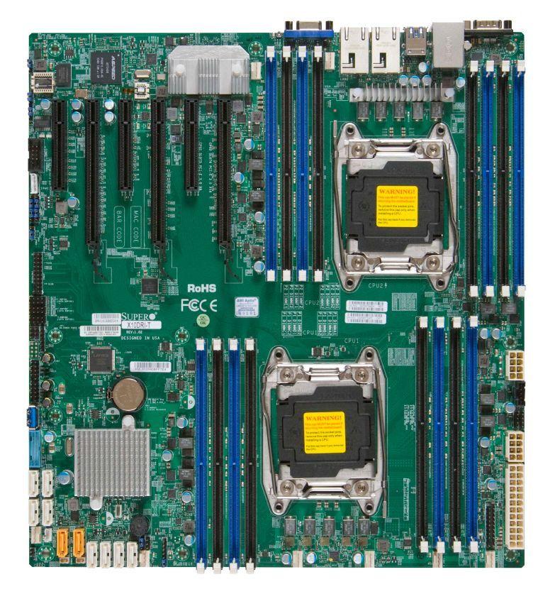 Supermicro X10DRi-T Intel® C612 LGA 2011 (Socket R) Verlengd ATX