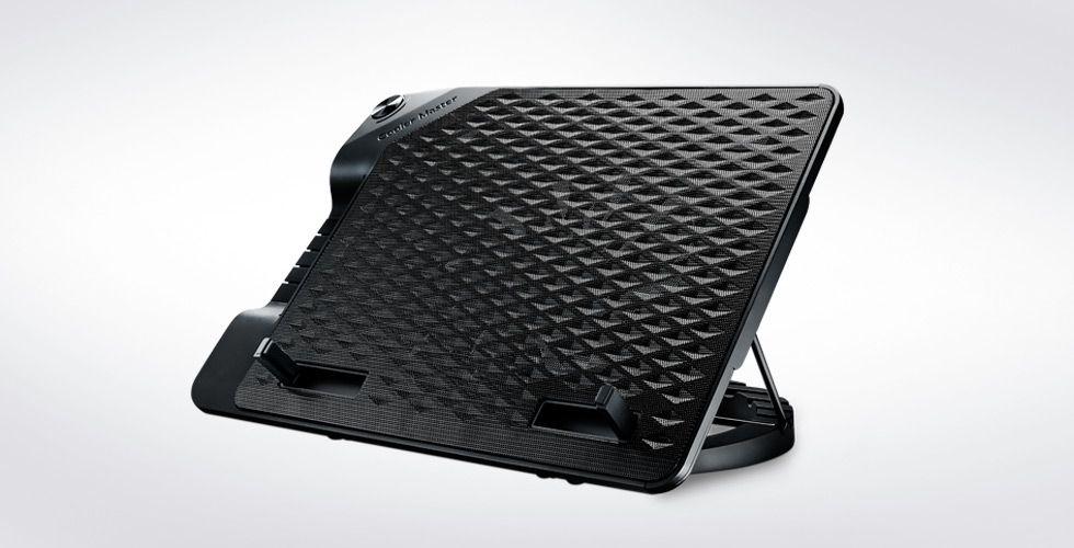 """Cooler Master NotePal Ergostand III notebook cooling pad 43,2 cm (17"""") 800 RPM Zwart"""
