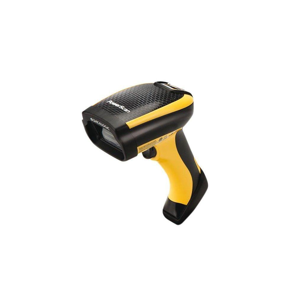 Datalogic PowerScan PM9500 1D/2D Fotodiode Zwart, Geel Handheld bar code reader
