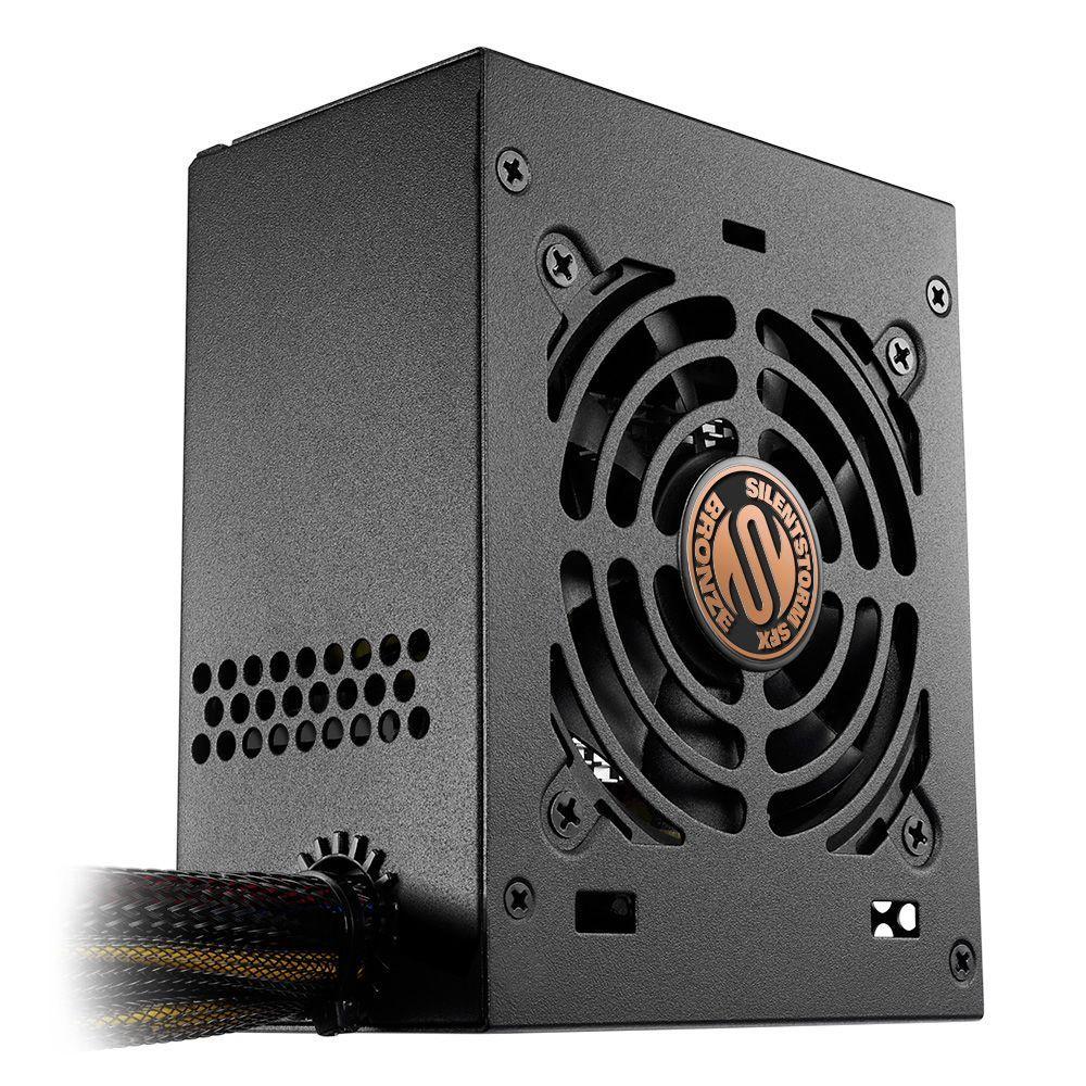 Sharkoon SilentStorm SFX Bronze power supply unit 450 W 20+4 pin ATX Zwart