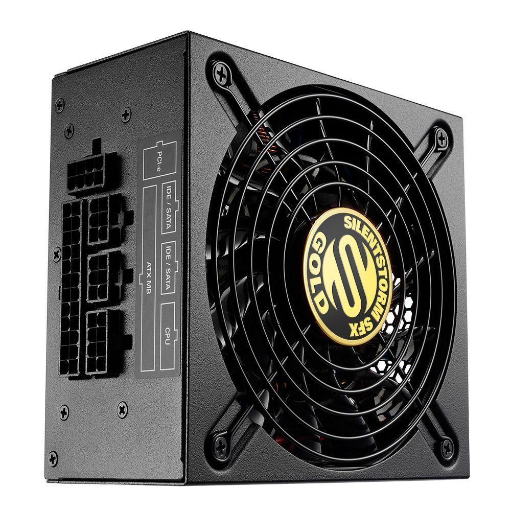 Sharkoon SilentStorm SFX Gold power supply unit 500 W 20+4 pin ATX Zwart