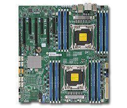 Supermicro X10DAX Intel® C612 LGA 2011 (Socket R) Verlengd ATX