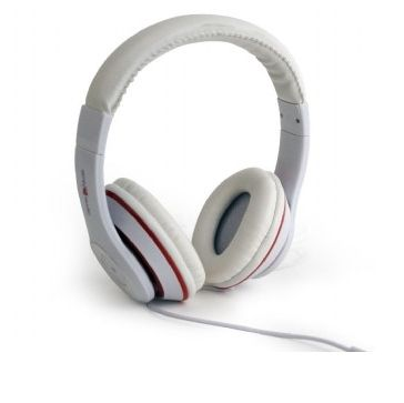 Gembird Los Angeles Headset Hoofdband 3,5mm-connector Wit