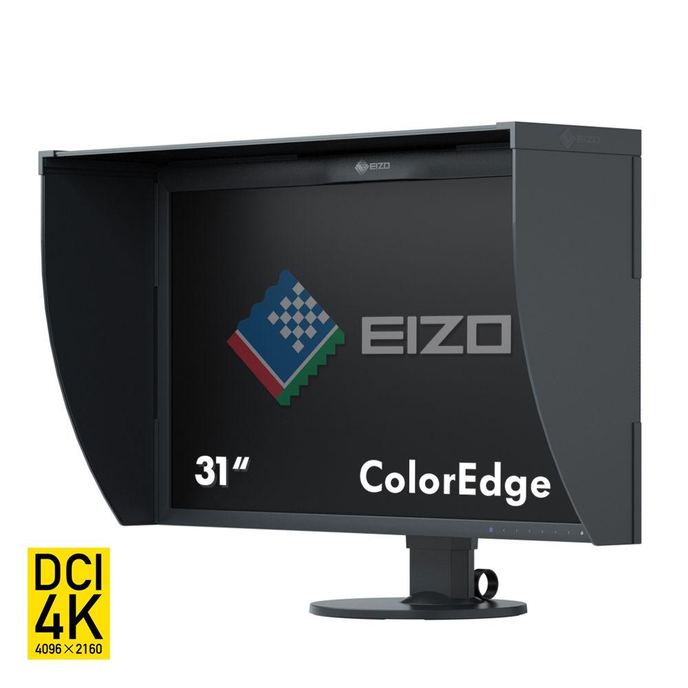 "EIZO ColorEdge CG318-4K LED display 79 cm (31.1"") 4096 x 2160 Pixels 4K DCI Zwart"