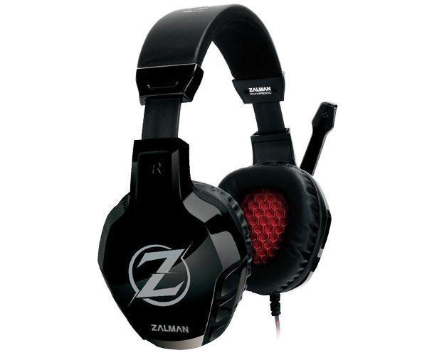 Zalman ZM-HPS300 hoofdtelefoon/headset Hoofdband Zwart