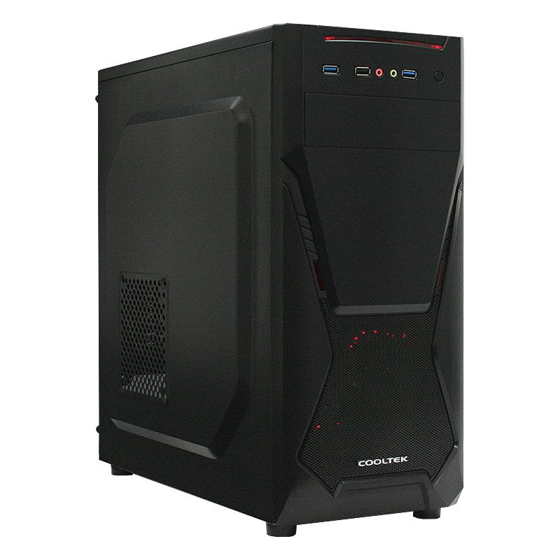 Cooltek X5 Midi Tower Zwart