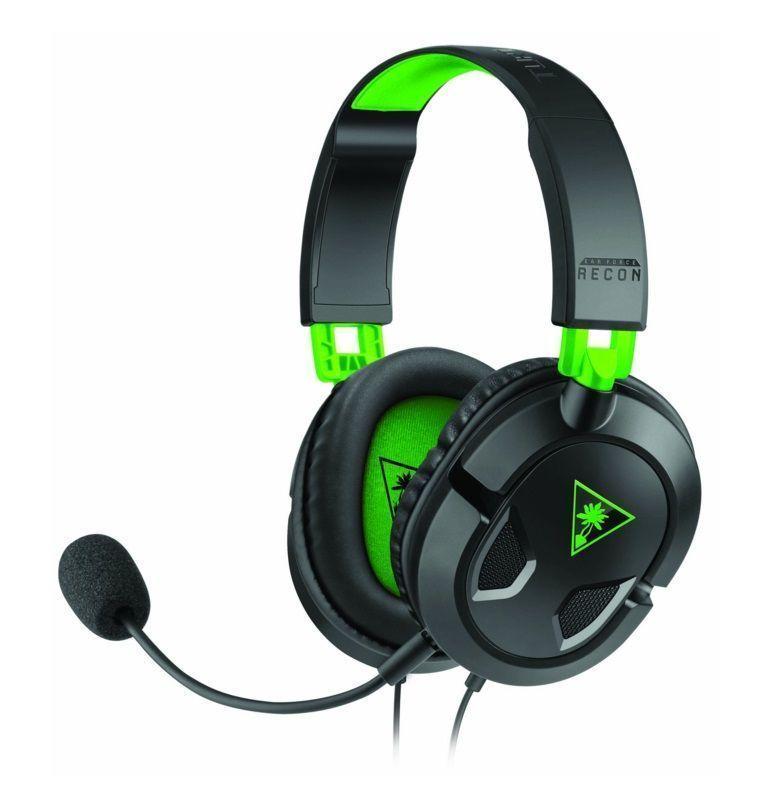 Turtle Beach Ear Force Recon 50X Headset Hoofdband Zwart, Groen