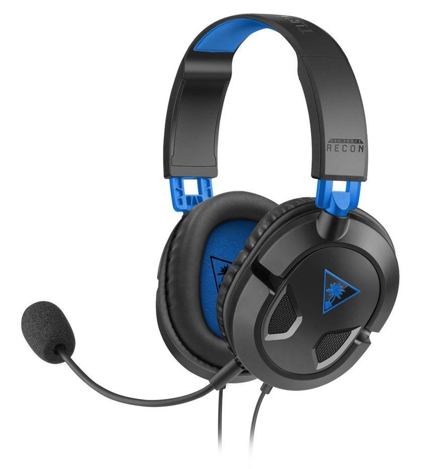 Turtle Beach TB033034 Headset Hoofdband Zwart, Blauw