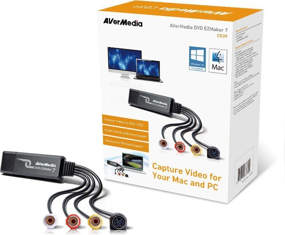 AVerMedia DVD EZMaker 7 video capture board USB 2.0