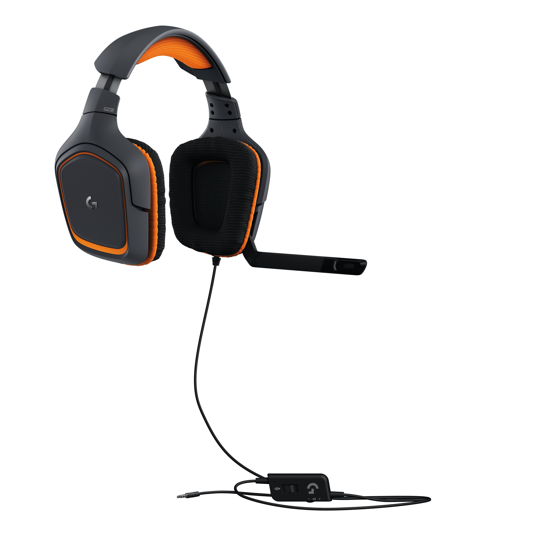 Logitech G G231 Prodigy Headset Hoofdband 3,5mm-connector Zwart, Oranje