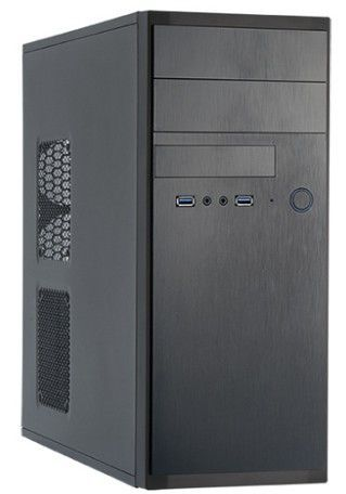 Chieftec HQ-01B-OP computerbehuizing Midi Tower Zwart