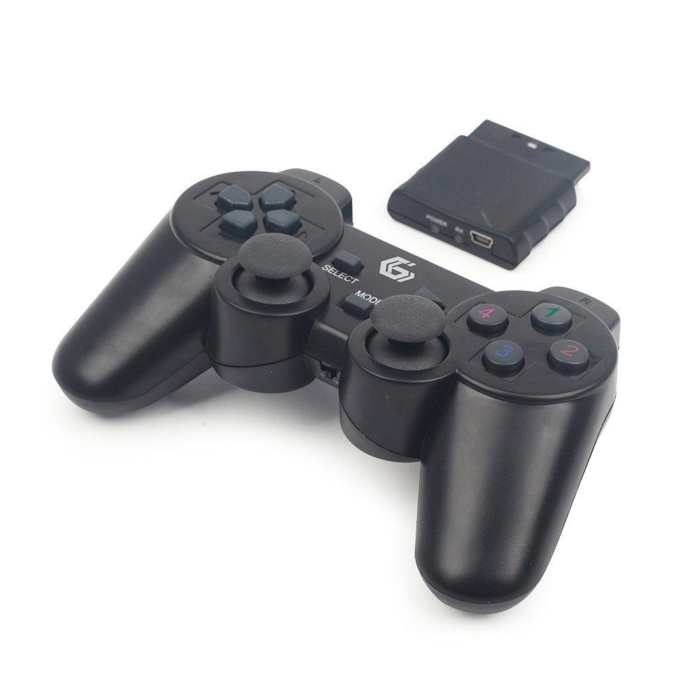 Gembird JPD-WDV-01 Gamepad PC,Playstation 2,Playstation 3 Zwart game controller