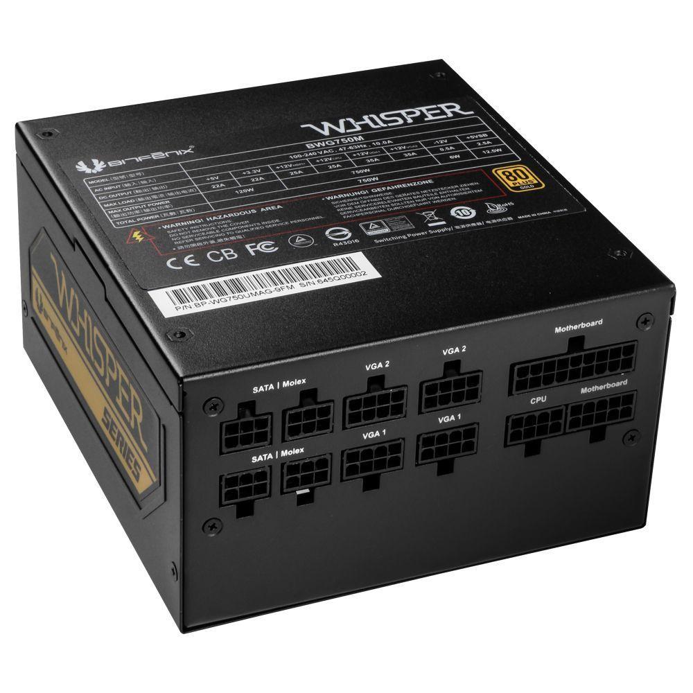 BitFenix BWG750M power supply unit 750 W 20+4 pin ATX Zwart