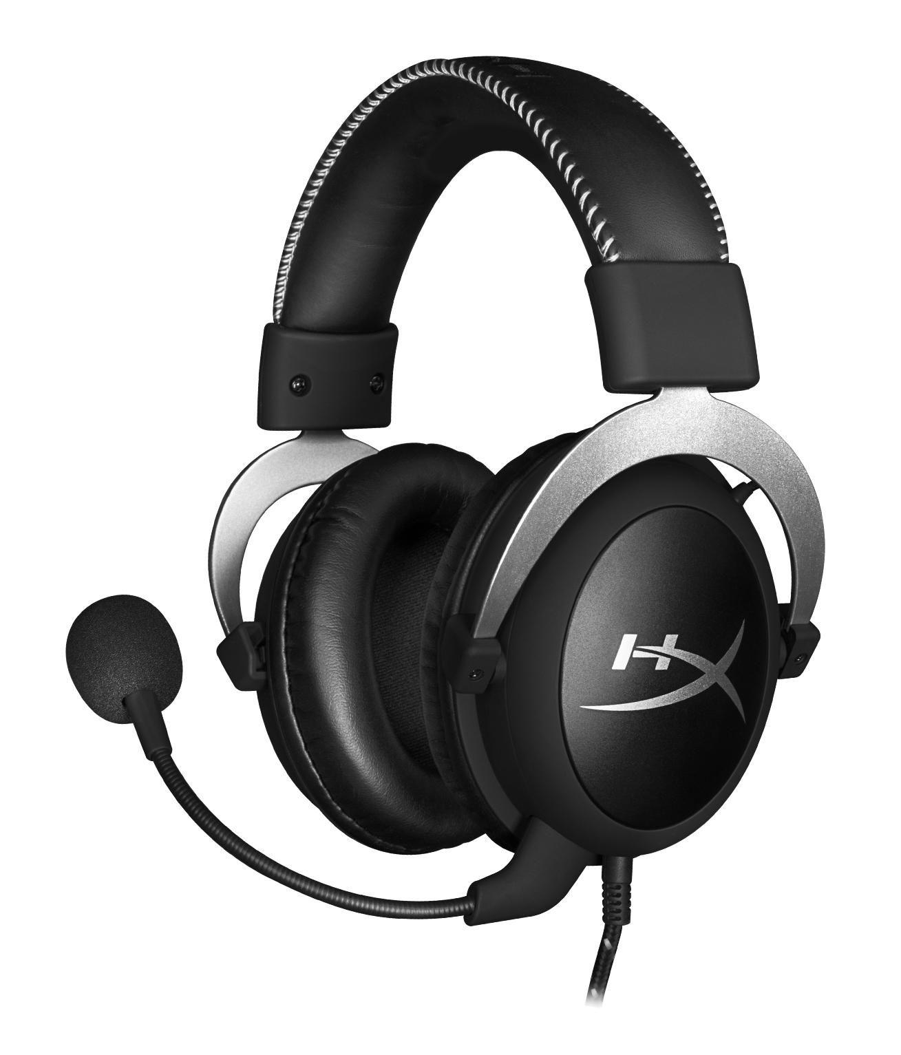 HyperX Cloud Pro Headset Hoofdband 3,5mm-connector Zwart, Zilver