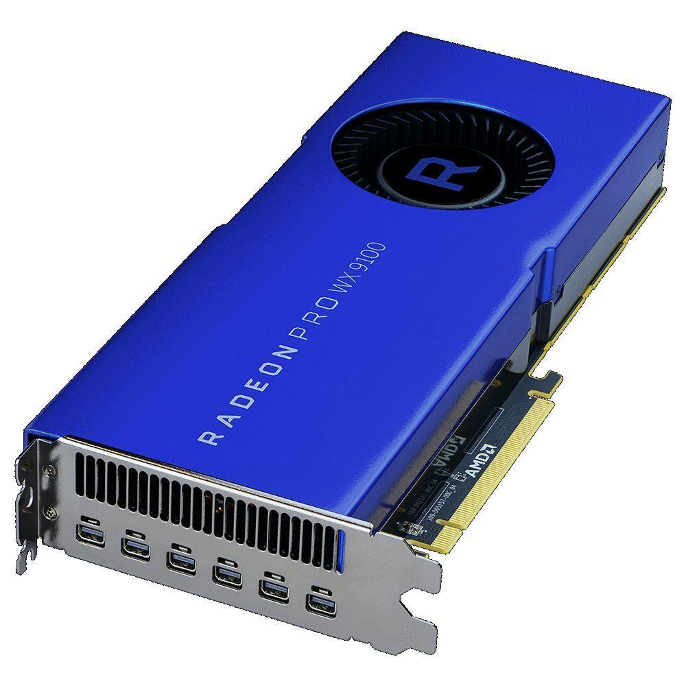 AMD 100-505957 videokaart Radeon Pro WX 9100 16 GB Hoge bandbreedtegeheugen 2 (HBM2)