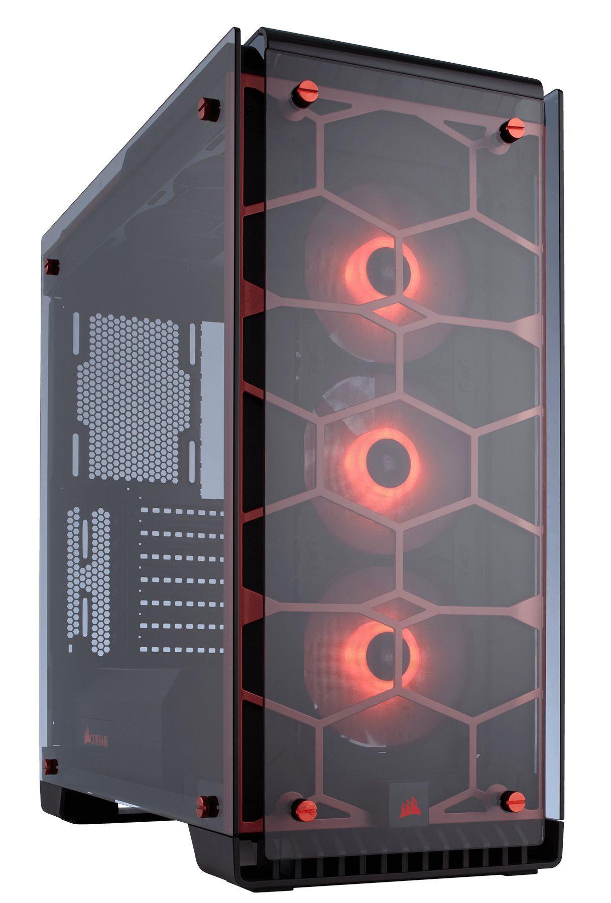 Corsair Crystal 570X Midi Tower Rood
