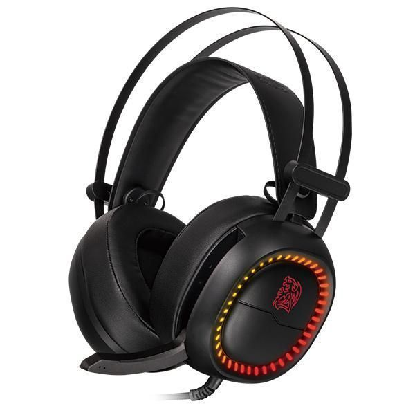 Tt eSPORTS SHOCK PRO RGB Headset Hoofdband Zwart