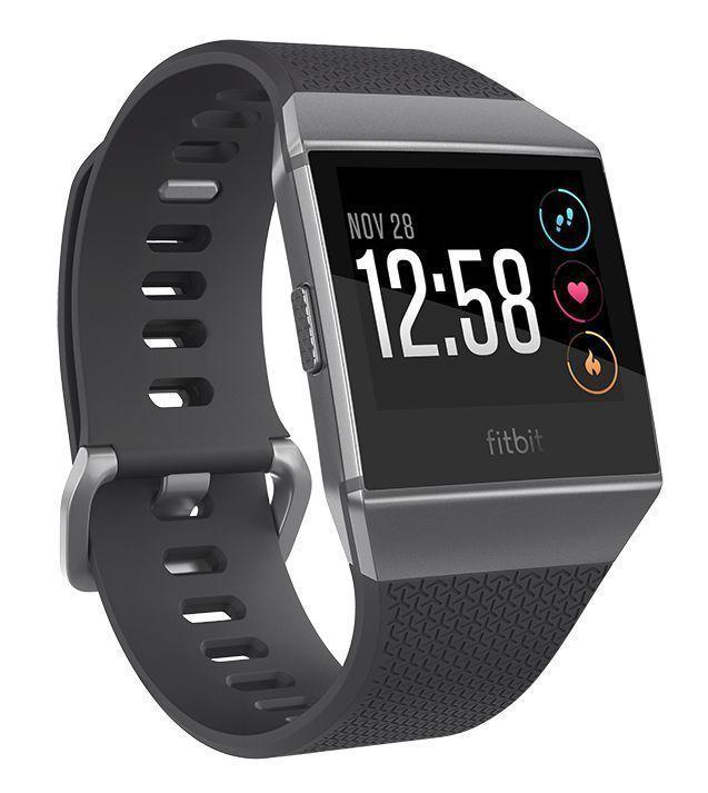 """Fitbit Ionic 3,61 cm (1.42"""") LCD Zwart, Grafiet, Grijs GPS"""