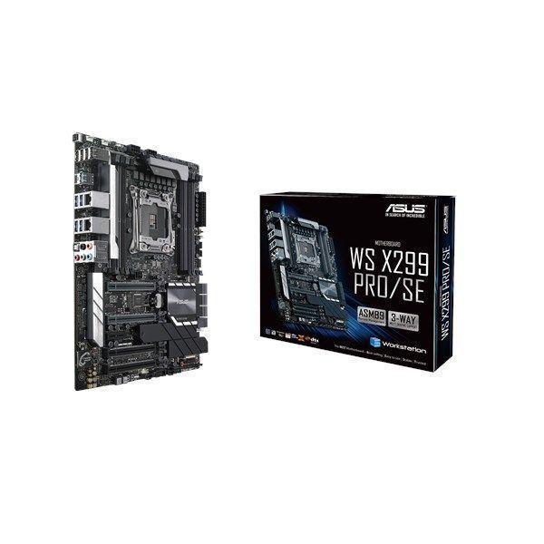 ASUS WS X299 PRO/SE LGA 2066 (Socket R4) ATX Intel® X299