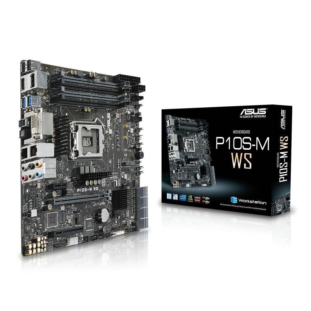 ASUS P10S-M WS Intel® C236 LGA 1151 (Socket H4) micro ATX