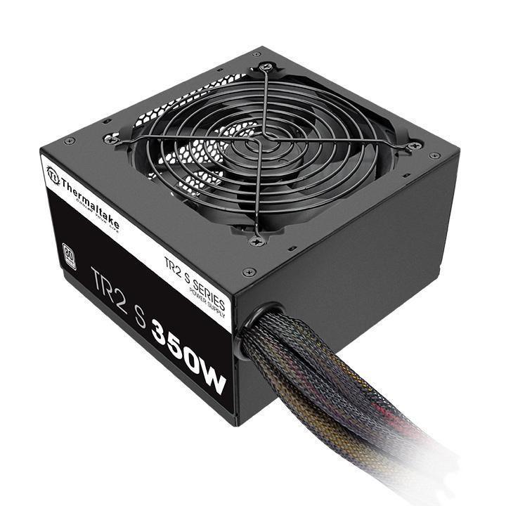 Thermaltake TRS-350AH2NK power supply unit 350 W 20+4 pin ATX ATX Zwart