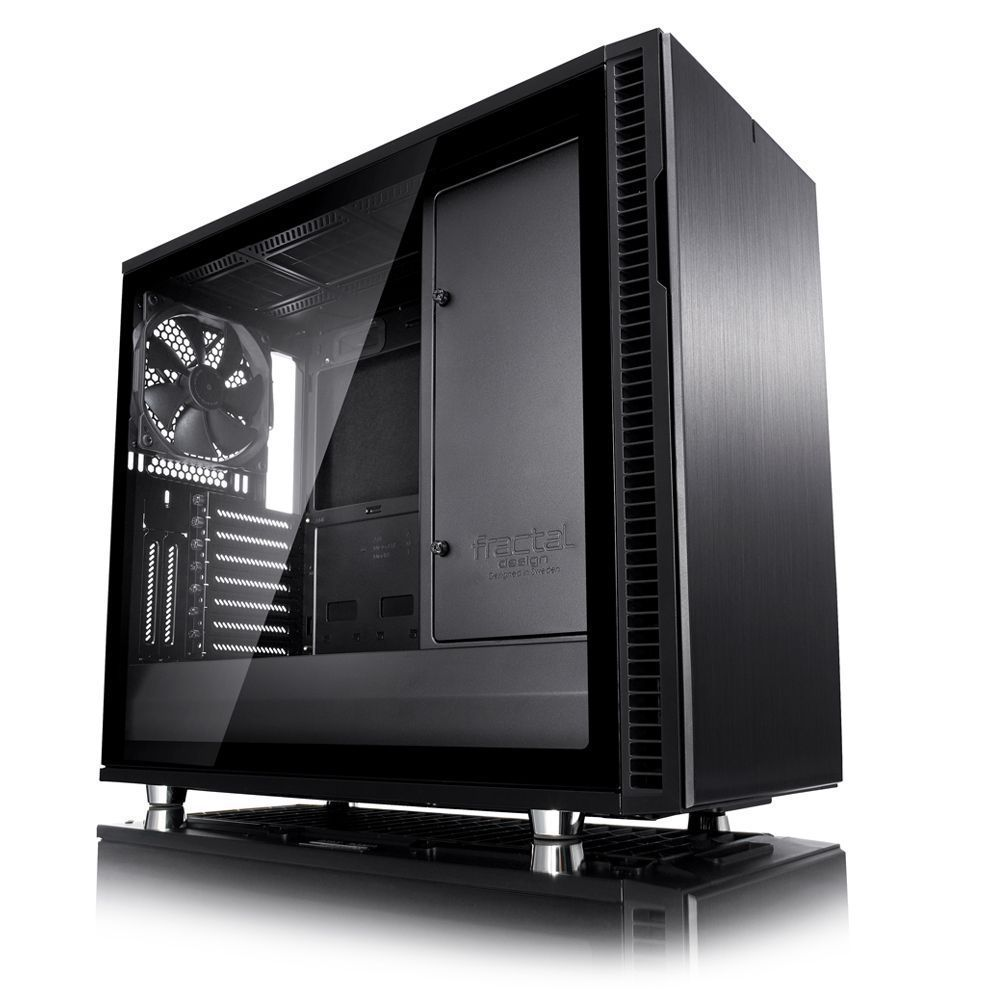 Fractal Design Define R6 USB-C–TG Midi Tower Zwart