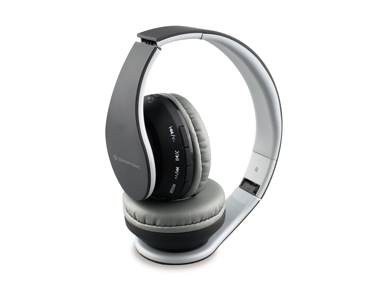 Conceptronic PARRIS01B Headset Hoofdband Zwart