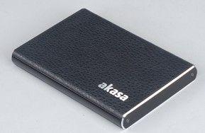 """Akasa AK-IC09U3-BK behuizing voor opslagstations 2.5"""" Zwart Stroomvoorziening via USB"""