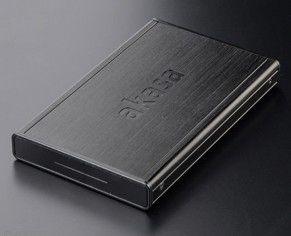 """Akasa AK-IC19U3-BK behuizing voor opslagstations 2.5"""" Zwart Stroomvoorziening via USB"""