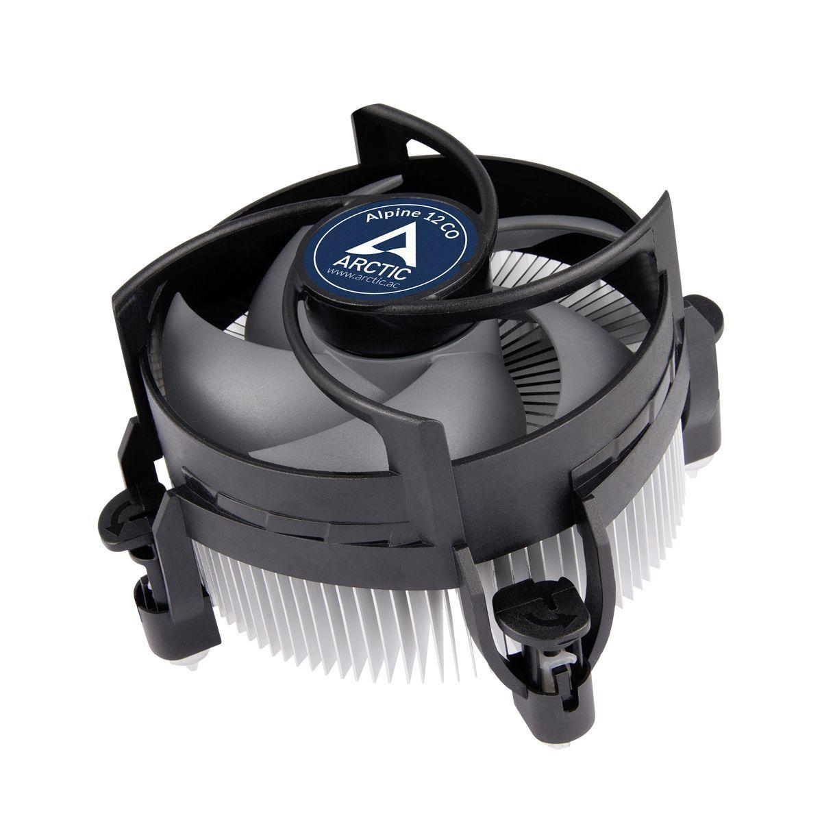 ARCTIC Alpine 12 CO Processor Koeler 9,2 cm Zwart, Zilver