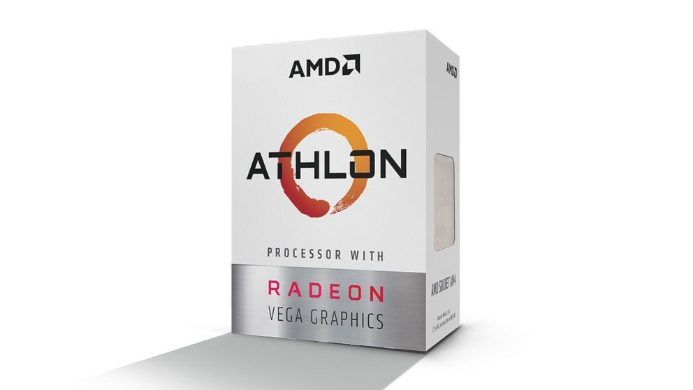 AMD Athlon 200GE processor Box 3,2 GHz 4 MB L3