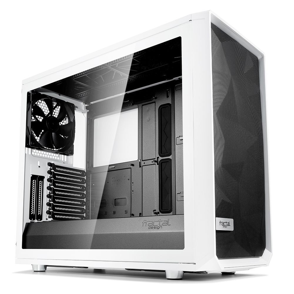 Fractal Design Meshify S2 White – TG Midi Tower Wit