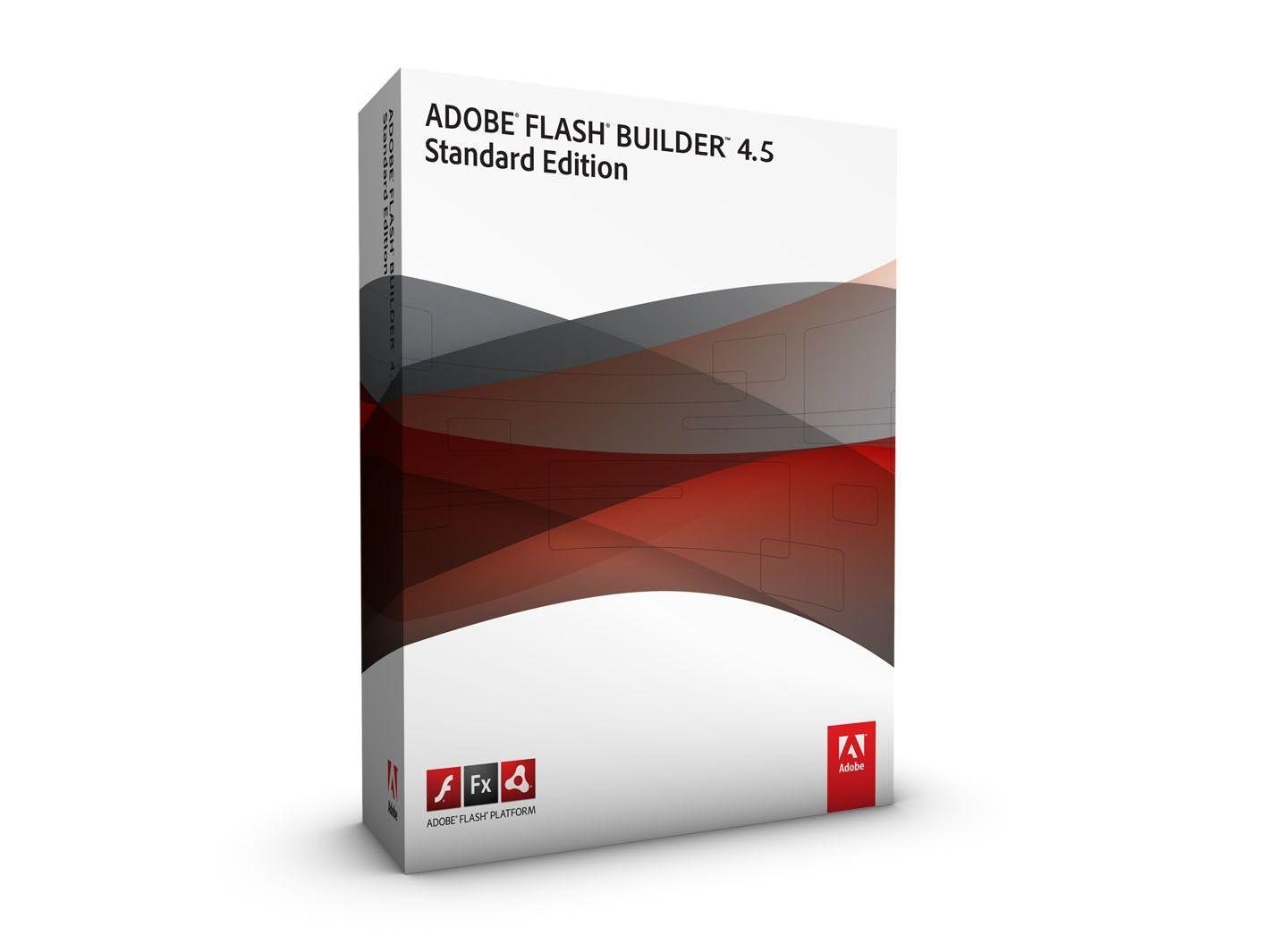 Adobe Flash Builder Standard 4.5, Media, DVD, Win/Mac 1licentie(s) Media Kit Frans