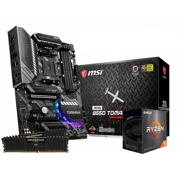 UpgradeKit: Ryzen 7 5600X / MSI MAG B550 Tomahawk / 32GB